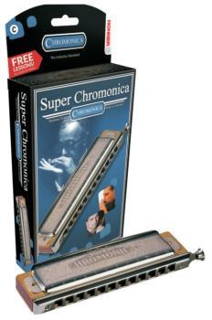 Hohner Super Chromonica Harmonica (HH-MTR-HH270BL)