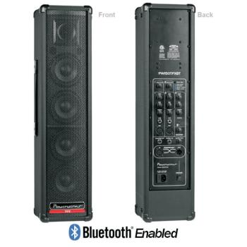 PowerWerks 150 Watt Self-Contained Personal P.A. System with Digital Effects & Bluetooth (OW-PW150TFXBT)
