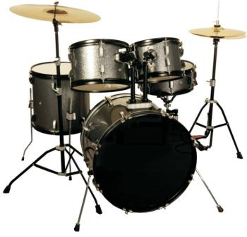 Excel 5 Piece Drumset with 3 Piece Cymbal Pack (EX-MTR-EC525E1)