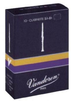 Vandoren® Bb Clarinet Reeds, #2 1/2 (VA-CR1025)