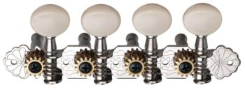Ping 4+4 Plank, White, Mandolin Machine Heads (PI-P2695)