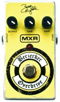 MXR Wylde Overdrive Effects Pedal (MX-ZW44)