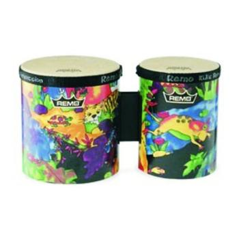 "Remo Kids Percussion Bongo Drums, 5 & 6"" (RM-KD540001)"