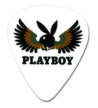 Clayton Playboy Medium Guitar Picks, Wings (CL-PWSM)