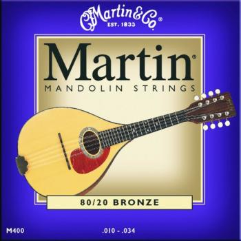 Martin 80/20 Bronze Mandolin Strings (MA-M400)