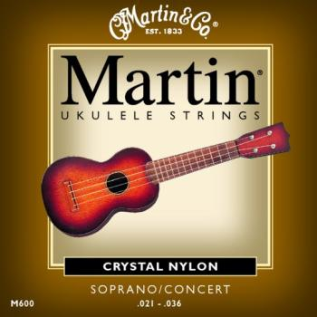 Martin Soprano Uke Strings, Modified True Nylon (MA-M600)