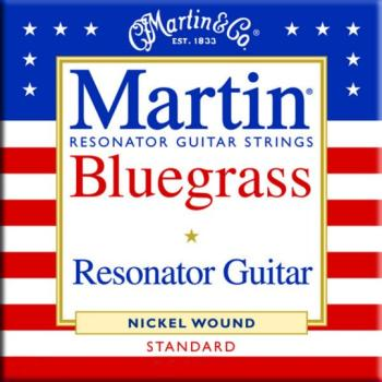 Martin Nickel Wound Resonator Strings, Light (MA-M980)