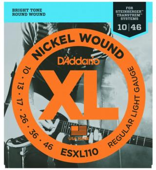 D'Addario SXL Steinberger Double Ball End, Reg. Lt (DD-ESXL110)