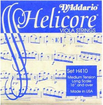 Helicore Medium Tone Viola String Set, 4/4 (HC-H410)