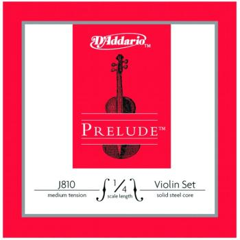 Prelude Medium Tension Violin String Set, 1/4 (PD-J81014M)