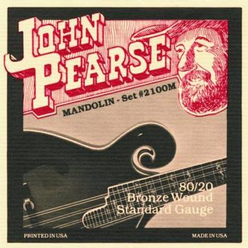 John Pearse Bluegrass 80/20 Mandolin Strings, Med. (JP-JP2100M)