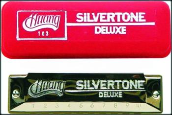 Huang Silvertone Deluxe Harmonica (HU-MTR-INS103)
