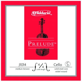 Prelude Medium Tension Single Cello String, 4/4 (PD-MTR-J101444M)