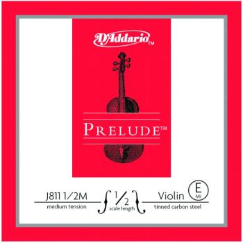 Prelude Medium Tension Single Violin String, 1/2 (PD-MTR-J8112M)