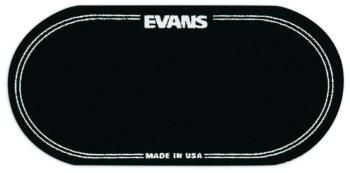 Evans Black Nylon Double Bass Drum Patches (2) (EV-EQPB2)