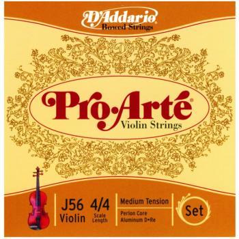 D'Addario Pro Arte' Violin String Set (DD-MTR-J564M)