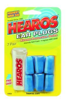 Hearos Xtreme Protection Series Earplugs, 7 pair (EA-HR2826)