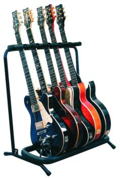 RockStand Multi Stand for 5 Electric/Bass Guitars (RD-RS20861B2)
