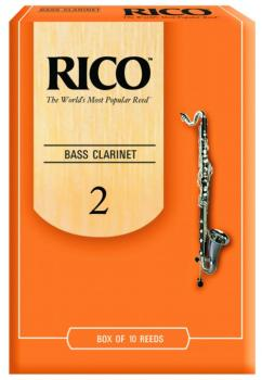 Rico Bass Clarinet Reeds 10 Per Box (RI-MTR-1269R)