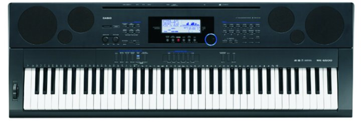 casio wk7500 76 key full size keyboard. Black Bedroom Furniture Sets. Home Design Ideas