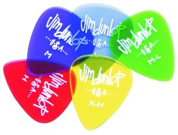Dunlop Gel Picks, Packs of 12 (DU-MTR-486P)