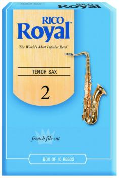 Rico Royal Tenor Sax Reeds, 10 Per Box (RR-MTR-706R)