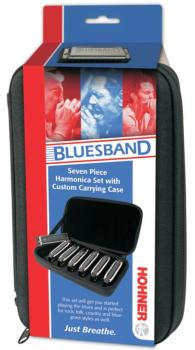 Hohner Blues Band Harmonica Assortment with Case (HH-15017)
