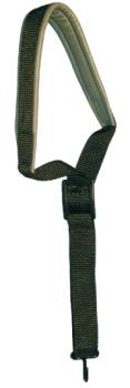 LM Polyweb Leather Padded Sax Strap (LM-IA29)