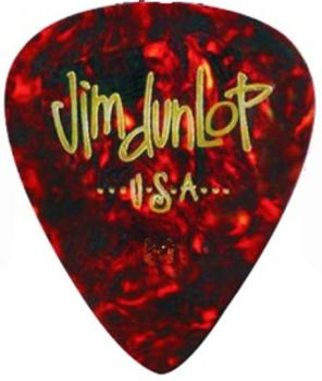 Dunlop Celluloid Classic Shell Picks (12 Pack) (DU-MTR-483P05)