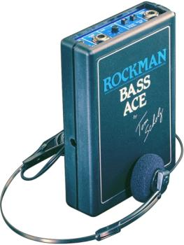 Dunlop Rockman Bass Ace Headphone Amplifier (DU-BA)
