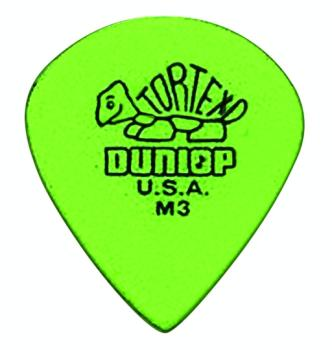 Dunlop Tortex M3 Jazz Pick Packs, Sharp/Medium .88 (472RM3)
