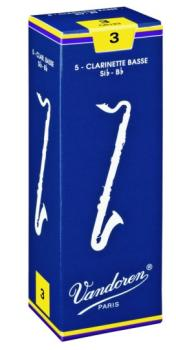 Vandoren® Bb Bass Clarinet Reeds, 5 Per Box (VA-MTR-CR12)