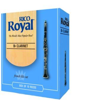 Rico Royal® Bb Clarinet Reeds, #2 1/2 (RR-RCB1025)