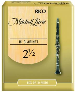 Mitchell Lurie Original Cut Clarinet Reeds, #2 1/2 (ML-RML10BCL250)