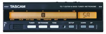 Tascam Guitar & Bass Tuner/Metronome (TS-TG7)