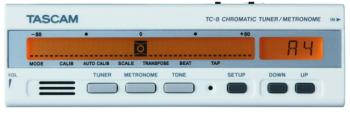 Tascam Chromatic Band & Orchestra Tuner/Metronome (TS-TG8)