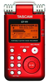 Tascam GT-R1 Portable Guitar & Bass Recorder (TS-GTR1)