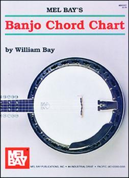 Mel Bay Banjo Chord Chart (MB93321)