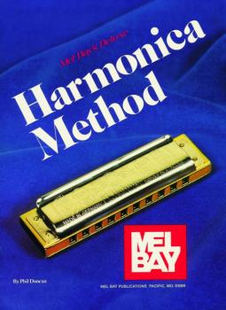 Mel Bay Deluxe Harmonica Method Book (MB-93737)
