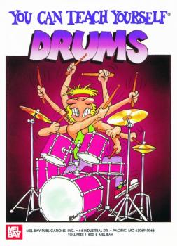 """Mel Bay """"You Can Teach Yourself"""" Drums Book (MB-94495)"""