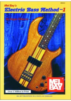 Mel Bay Electric Bass Method Volume 1 (MB-93234)