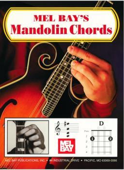 Mel Bay Mandolin Chord Chart (MB-93257)