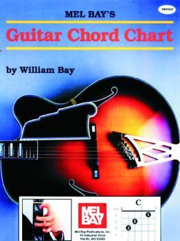 Mel Bay Guitar Chord Chart (MB-93322)
