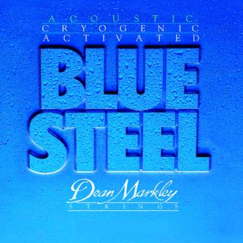 Dean Markley Blue Steel Acoustic Guitar Strings, Medium Light  (DM-2036)
