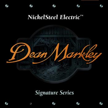 Dean Markley Nickel Steel Electric Guitar Strings, F150 (10 - 38) (DM-2509B)