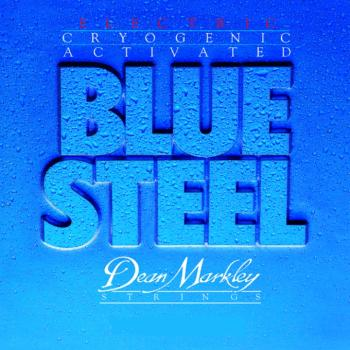 Dean Markley Blue Steel Electric Guitar Strings, Regular  (10  - 46) (DM-2556)