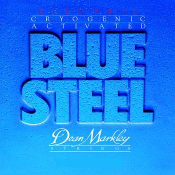 Dean Markley Blue Steel Electric Guitar Strings, Light Top Heavy Bottom (10 - 52) (DM-2558)