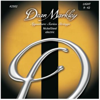 Dean Markley NickelSteel Electric Guitar Strings, Light (9 - 42) (DM-2502B)