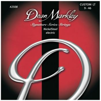 Dean Markley NickelSteel Electric Guitar Strings, Custom Light (9 - 46) (DM-2508B)