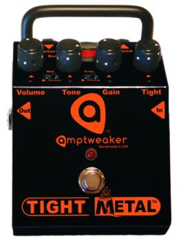 Amptweaker TightMetal Distortion Pedal (AW-AMPTWTMD)